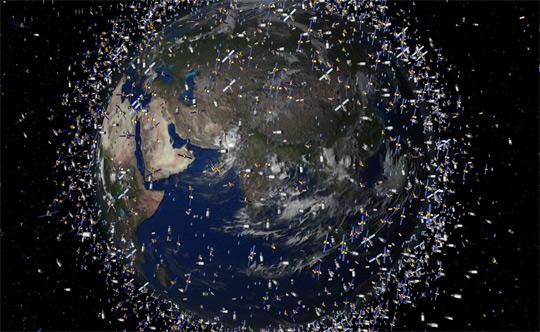 space junk WARNING! mulai tahun 2012 sampah akan berjatuhan dari luar angkasa